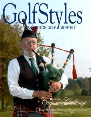 Piper on Washington Golf Cover